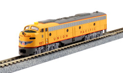 Kato N 176-5317-DCC EMD E9A Union Pacific with Nose Herald #957 TCS DCC Equipped