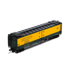Athearn HO ATH97357 RTR 50' Ice Bunker Reefer, C&NW Chicago and Northwestern NWX #52008