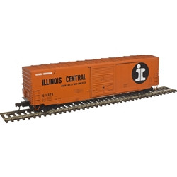 Atlas Master HO 20004754 50' Precision Design Smooth-side Boxcar Illinois Central IC #11378