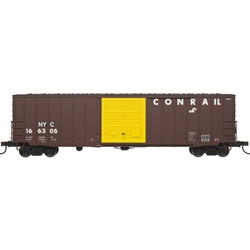 Atlas Master HO 20004757 50' Precision Design Rib-side Boxcar CSX Ex Conrail NYC patch #166305