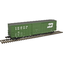 Atlas Master HO 20004762 50' Precision Design Rib-side Boxcar Burlington Northern BN #214318