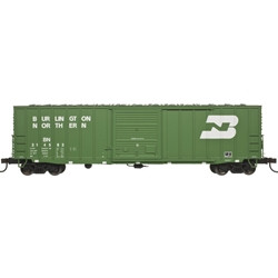 Atlas Master HO 20004763 50' Precision Design Rib-side Boxcar Burlington Northern BN #214583