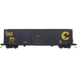 Atlas Master HO 20004764 50' Precision Design Smooth-side Boxcar Chessie System WM #35182