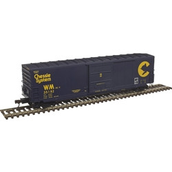 Atlas Master HO 20004765 50' Precision Design Smooth-side Boxcar Chessie System WM #35263