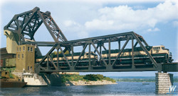 Walthers Cornerstone 933-3070 Operating Single Track Bascule Bridge