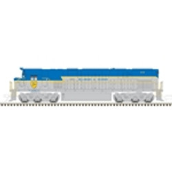 Atlas Master N 40003556 DCC Ready, ALCO C-628 Diesel Locomotive, Delaware and Hudson D&H #614