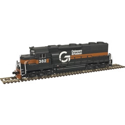 Atlas Master N 40003847 DCC Ready, EMD GP-39-2 Phase 1 Diesel Locomotive, Guilford D&H #384