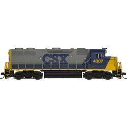 Atlas Master N 40003838 DCC Ready, EMD GP-39-2 Phase 1 Diesel Locomotive, CSX YN2 #4307