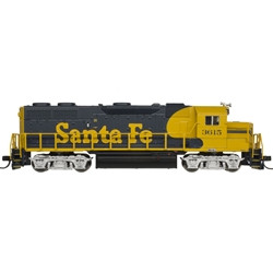 Atlas Master N 40003853 ESU LokSound/DCC, EMD GP-39-2 Phase 1 Diesel Locomotive, Santa Fe #3609