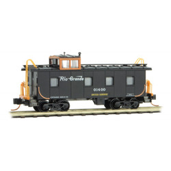 Micro Trains 100 00 400 36' Riveted Steel Caboose w/ Offset Cupola Denver & Rio Grande Western #01400