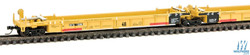 Walthers N 9298107 Thrall 5-Unit Articulated 48' Well Car - TTX Trailer Train - DTTX #72888