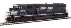 Walthers Mainline HO 910-10307 EMD SD60M 3 Window Cab DCC Ready Norfolk Southern NS #6810