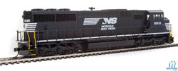 Walthers Mainline HO 910-10308 EMD SD60M 3 Window Cab DCC Ready Norfolk Southern NS #6815