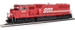 Walthers Mainline HO 910-10310 EMD SD60M 3 Window Cab DCC Ready Soo Line #6062