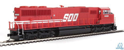Walthers Mainline HO 910-20310 EMD SD60M 3 Window Cab ESU LokSound/DCC Soo Line #6061
