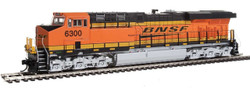 Walthers Mainline HO 910-10163 GE ES44AC Evolution Series GEVO Locomotive DCC Ready Burlington Northern Santa Fe BNSF #6300