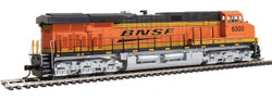 Walthers Mainline HO 910-20163 GE ES44AC Evolution Series GEVO Locomotive ESU LokSound/DCC Burlington Northern Santa Fe BNSF #6339