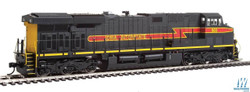 Walthers Mainline HO 910-20169 GE ES44AC Evolution Series GEVO Locomotive ESU LokSound/DCC Iowa Interstate IAIS #504