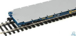 Walthers Proto HO 920-104115 53' AAR Flatcar Cheasapeake & Ohio C&O #216504