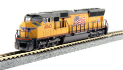 Kato N 176-8609 DCC Equipped EMD SD70M with Flared Radiators, Union Pacific #4843