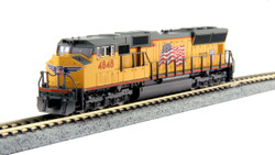Kato N 176-8610 DCC Equipped EMD SD70M with Flared Radiators, Union Pacific #4848