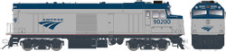 Rapido Trains Inc HO 81009 EMD F40PH Amtrak Phase V Cabbage NPCU #90208 DC version