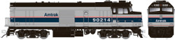 Rapido Trains Inc HO 81504 EMD F40PH Amtrak Phase IV Cabbage NPCU #90214 with DCC/ESU LokSound