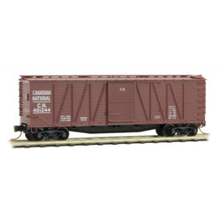 Micro Trains Line 028 00 240  40' Outside Braced Single Door Box Canadian National CN #1244