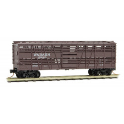 Micro Trains Line 035 00 270  40' Stock Car Wabash #15283