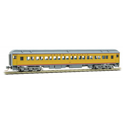 Micro Trains Line 145 00 061 78' Heavyweight Paired-Window Coach Car Union Pacific UP # 421
