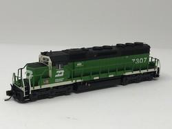 N Scale Charlie Hopkins Special EMD SD40R BN DC Version #7307