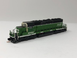 N Scale Charlie Hopkins Special EMD SD40-2 BNSF Patch DC Version #8031