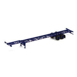 Athearn HO ATH26594 53' Container Chassis Pacer Stacktrain (2)