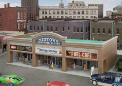 Walthers Cornerstone HO 933-4116 Modern Shopping Center II - Kit
