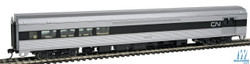Walthers Mainline HO 910-30060 85' Budd Baggage-Lounge Ready to Run Canadian National