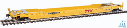 Walthers Proto HO 920-109028 Gunderson Rebuilt A-P 53' Well Car TTX DTTX #475899