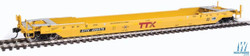Walthers Proto HO 920-109029 Gunderson Rebuilt A-P 53' Well Car TTX DTTX #469576