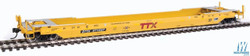 Walthers Proto HO 920-109031 Gunderson Rebuilt A-P 53' Well Car TTX DTTX #471557