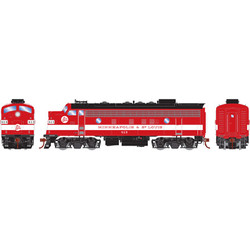 Athearn Genesis HO ATHG22700 DCC Ready F7A Minneapolis and St. Louis M&StL Freight #413
