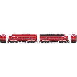 Athearn Genesis HO ATHG22701 DCC Ready F3A & F7A Minneapolis and St. Louis M&StL Freight #400 & #411