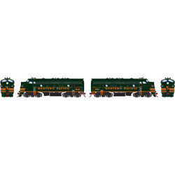 Athearn Genesis HO ATHG22703 DCC Ready F7A & F7A Freight Western Pacific WP #918 & #921