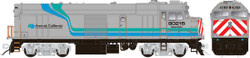 Rapido Trains Inc HO 81011 EMD F40PH Amtrak California Cabbage NPCU #90215 DC version