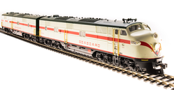 Broadway Limited Imports HO 5417 EMD E7 AB Set, Seaboard SAL #3025/3107 A-unit Paragon3 Sound/DC/DCC, Unpowered B-unit