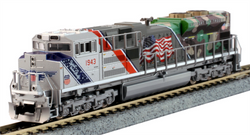 "Kato N 1761943 EMD SD70ACe Diesel Locomotive Union Pacific ""The Spirit"" UP #1943"