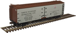 Atlas Master HO 20004744 40' Wood Reefer North Western Refrigerator Line NWX #6087