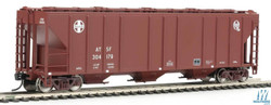 Walthers Mainline HO 910-7266 54' Pullman-Standard 4427 CD Covered Hopper Santa Fe ATSF #304517