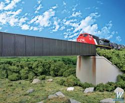 Walthers Cornerstone  HO 933-4503 90' Single-Track Through Girder Bridge - Kit