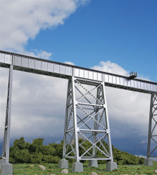Walthers Cornerstone  HO 933-4554 Steel Railroad Bridge Tower - Kit