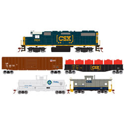 Athearn Roundhouse HO ATHR 14266 GP38-2 Iron Horse Train Set CSX