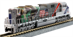 "Kato N 1761943DCC EMD SD70ACe Diesel Locomotive Union Pacific ""The Spirit"" UP #1943 TCS DCC Equipped"